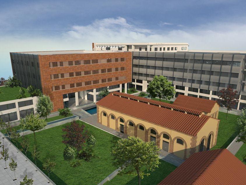 Δημόσιο Κτίριο Διοικητικών Υπηρεσιών στην Θεσσαλονίκη
